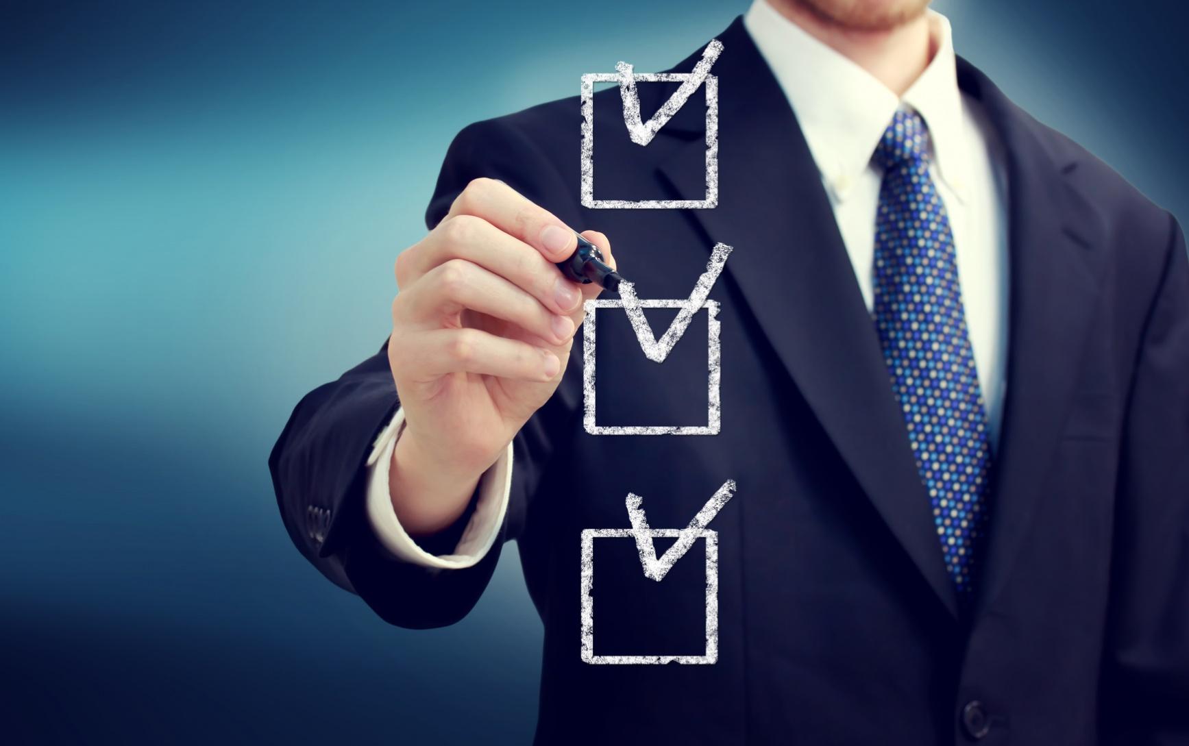 Checklist pequenas empresas